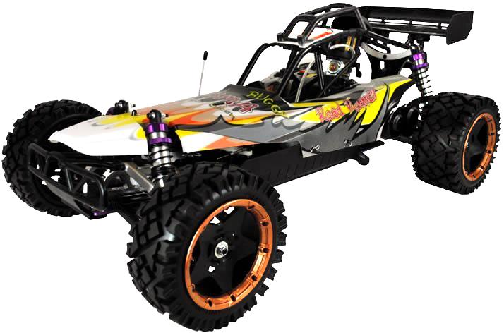 Yama Buggy RC à essence à léchelle 115 24Ghz 30cc Version Pilote de Course Road Runner Pro
