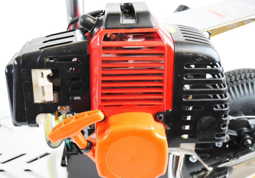 micro trottinette essence budget de 49cc avec suspension. Black Bedroom Furniture Sets. Home Design Ideas