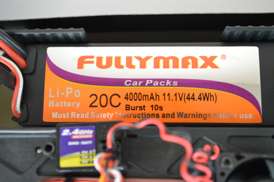 Barbarian exl Battery